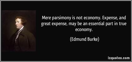 Parsimony quote