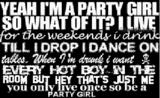Partying quote #3