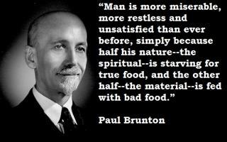 Paul Brunton's quote