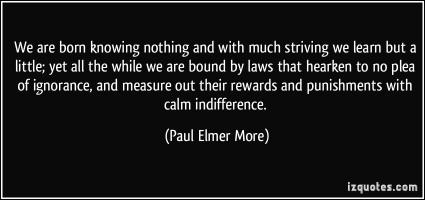 Paul Elmer More's quote #1