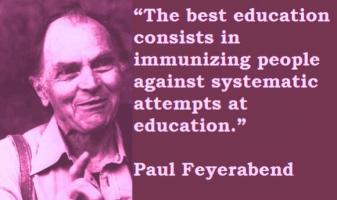 Paul Feyerabend's quote