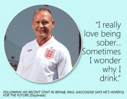 Paul Gascoigne's quote