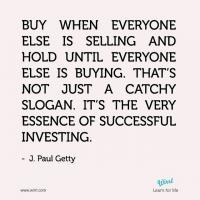Paul Getty's quote