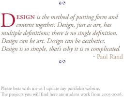 Paul Rand's quote