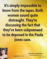 Paula Jones's quote #1