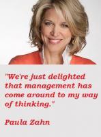 Paula Zahn's quote