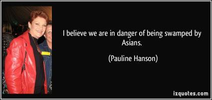 Pauline Hanson's quote