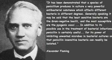 Penicillin quote #1