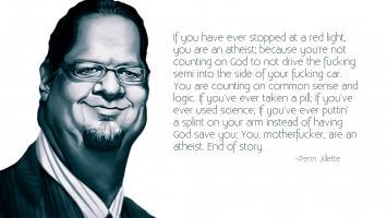 Penn Jillette's quote