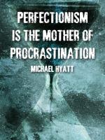 Perfectionism quote #2
