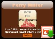 Perry Miller's quote