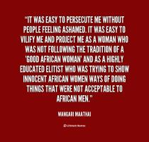 Persecute quote