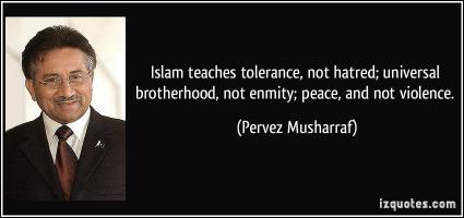 Pervez Musharraf's quote