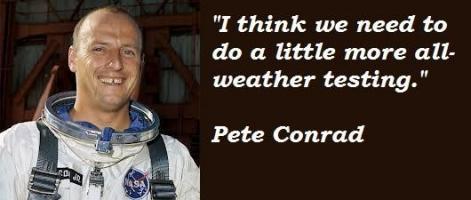 Pete Conrad's quote