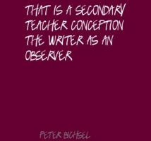 Peter Bichsel's quote
