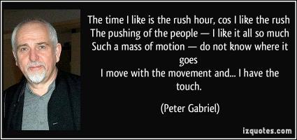 Peter Gabriel's quote