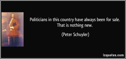 Peter Schuyler's quote