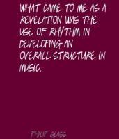 Philip Glass's quote
