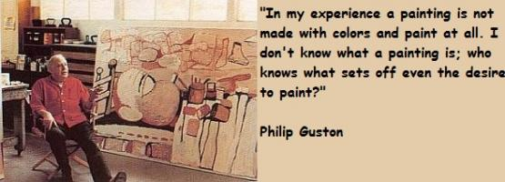 Philip Guston's quote #7