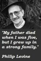 Philip Levine's quote