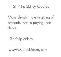 Philip Sidney's quote #3