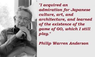 Philip Warren Anderson's quote