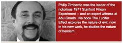 Philip Zimbardo's quote