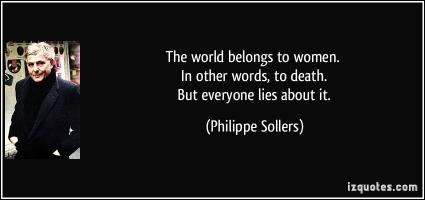 Philippe Sollers's quote
