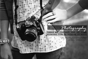 Photographer quote
