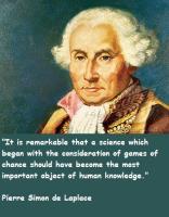 Pierre Laplace's quote #1