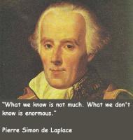 Pierre Laplace's quote