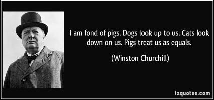 Pigs quote
