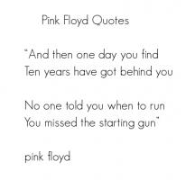 Pink Floyd quote #2
