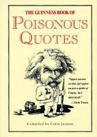 Poisonous quote #1