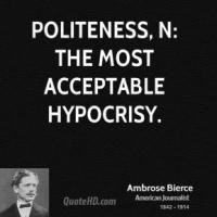 Politeness quote #7