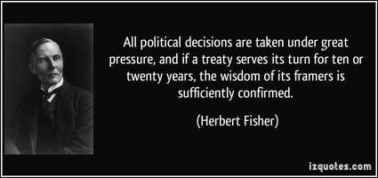 Political Decisions quote #2