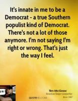 Populist quote #1