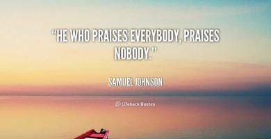 Praises quote #1