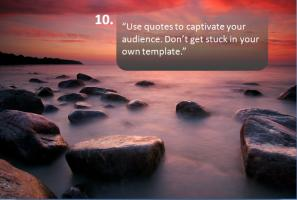 Presentation quote #2