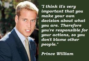 Prince William's quote