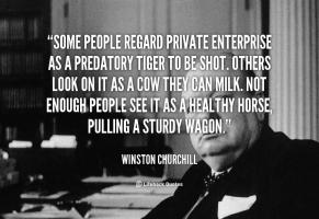 Private Enterprise quote #2