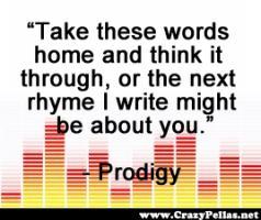 Prodigy quote #1