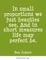 Proportions quote #2