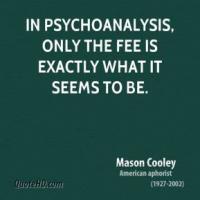 Psychoanalysis quote #2