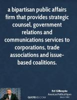 Public Affairs quote #2