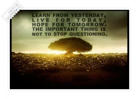 Questioning quote #2