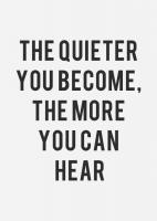 Quieter quote #1