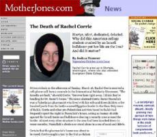 Rachel Corrie's quote