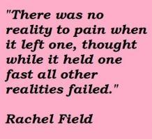 Rachel Field's quote
