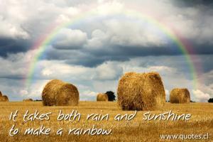 Rainbows quote #1